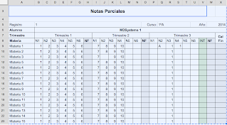 Notas parciales -MDSystems